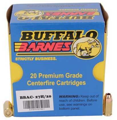 380Auto+P 80 Grain Barnes TAC-XP (Per 20) Md: 27H/20