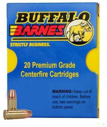 38 Super +P 115 Grain Barnes TAC-XP (Per 20) Ammo Md: 33F/20