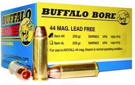 Heavy 44 Magnum Barnes XPB (Per 20) 200 Grain Md: 4K/20