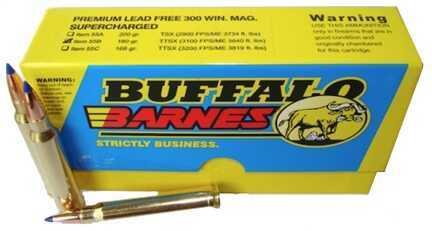 Premium Sport Cartridge 300 Winchester Magnum Barnes TTSX (Per 20) 180 Grains Md: 55B/20