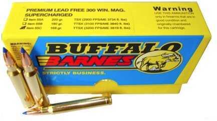 Premium Sport Cartridge 300 Winchester Magnum Barnes TTSX (Per 20) 168 Grains Md: 55C/20