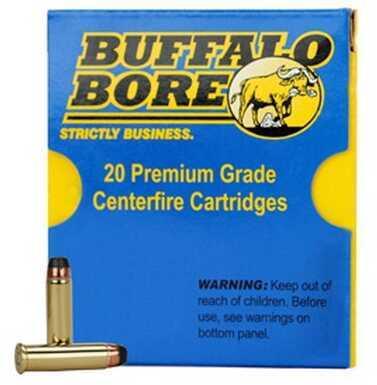 Low Recoil 44 Magnum 255 Grain Hard Cast Keith-GC (Per 20) Rounds Ammunition