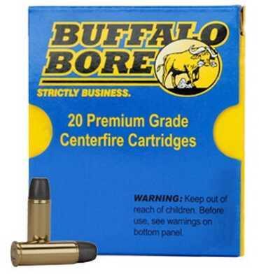 Heavy 45 Colt +P 325 Grain Hard Cast LBT-LFN 20 Rounds Ammunition