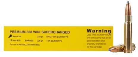 Premium Sport Cartridge 358 Winchester 225 Grain Spitzer-BT (Per 20) Md: 41A/20