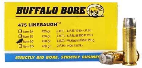 475 Linebaugh Tm 420 Grains Hard Cast LBT-WFNGC 1350 Fps (Per 50) Md: 2C/50