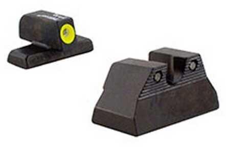 Trijicon H&K HD Night Sight Set USP Compact, Yellow Md: HK108Y