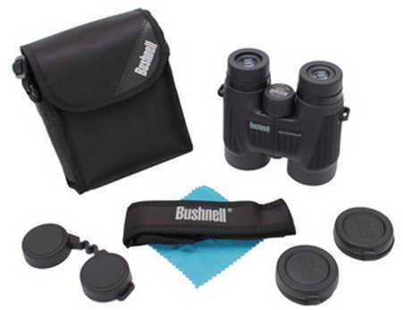 Bushnell Binoculars 10X42 Black Roof BAK-4, Twist Up EyecUps Md: 150142C