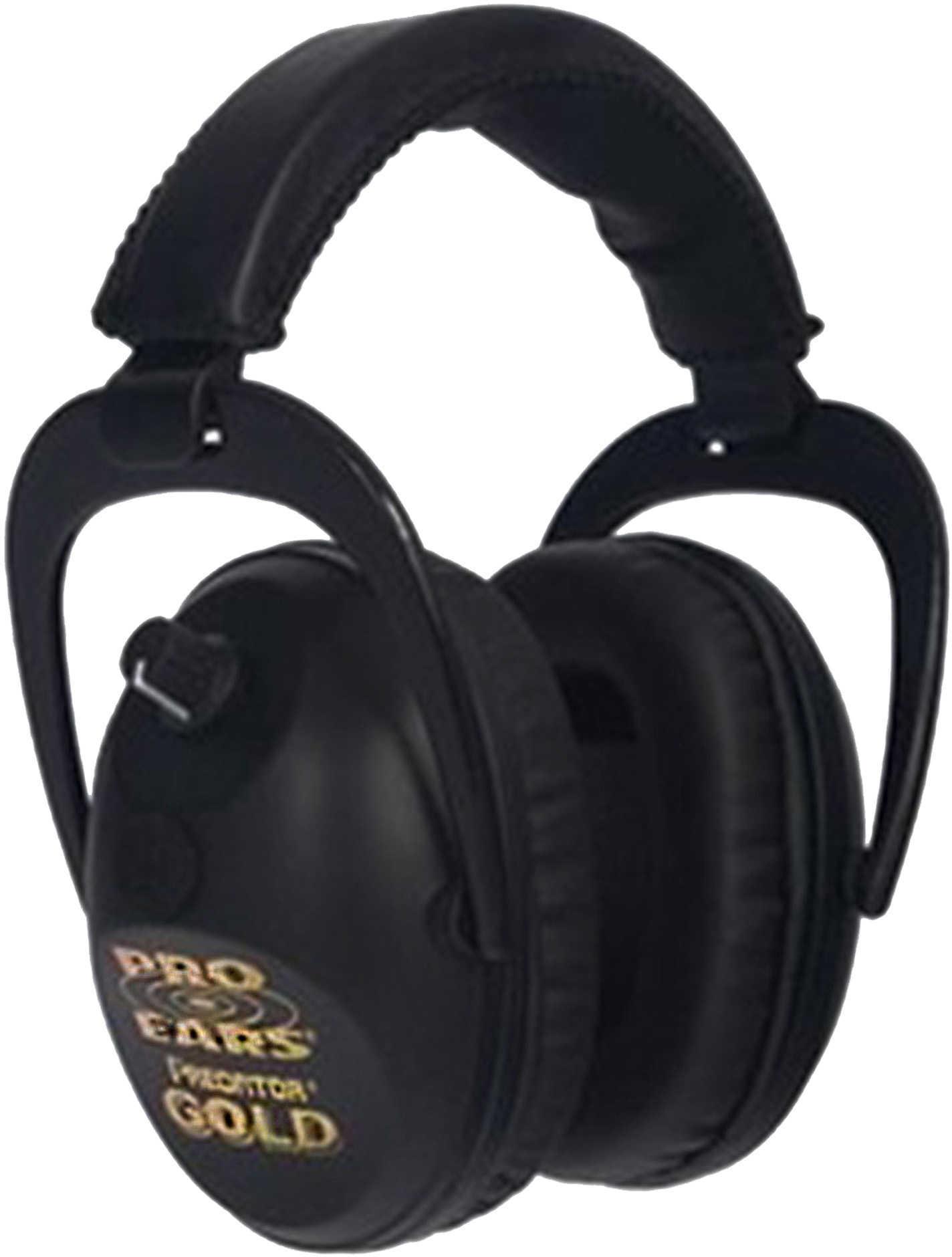Pro Ears GSP300BLK Predator Gold Electronic Earmuff 26 dB Black