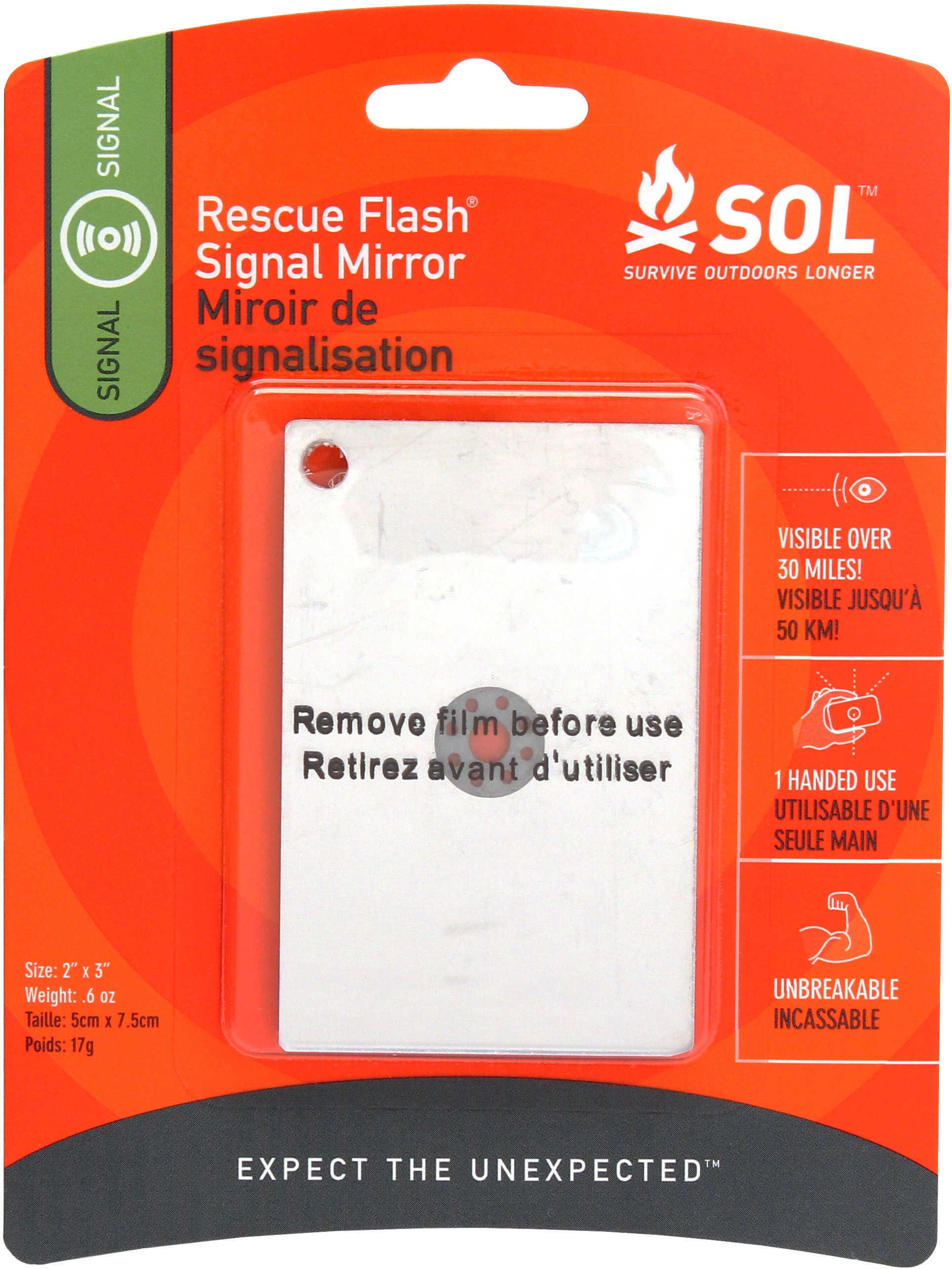 Sol Series Rescue Flash Mirror Md: 0140-1003