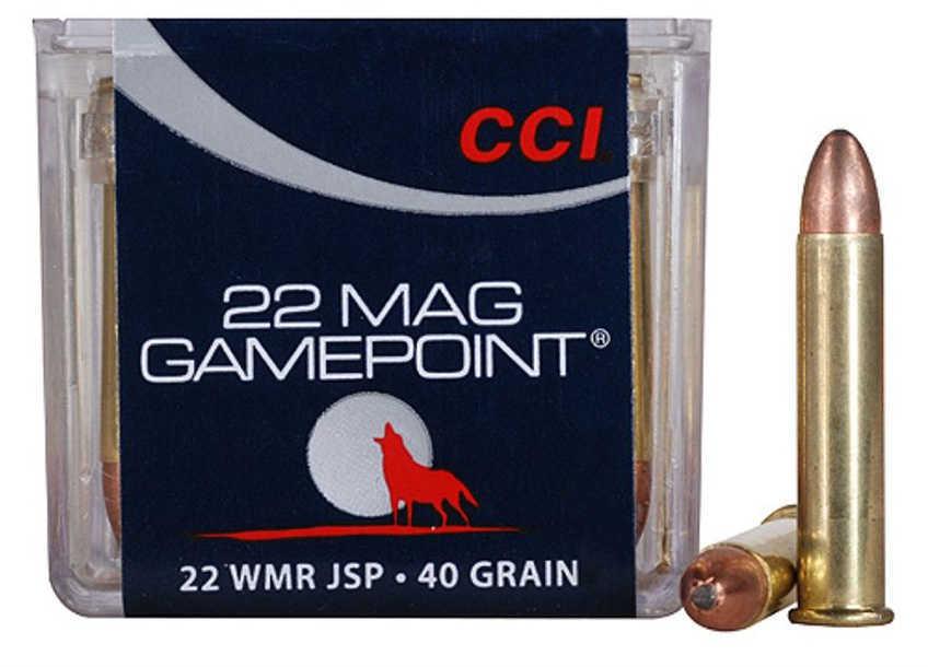CCI 22Mag 40 Grain Gamepoint 50/40