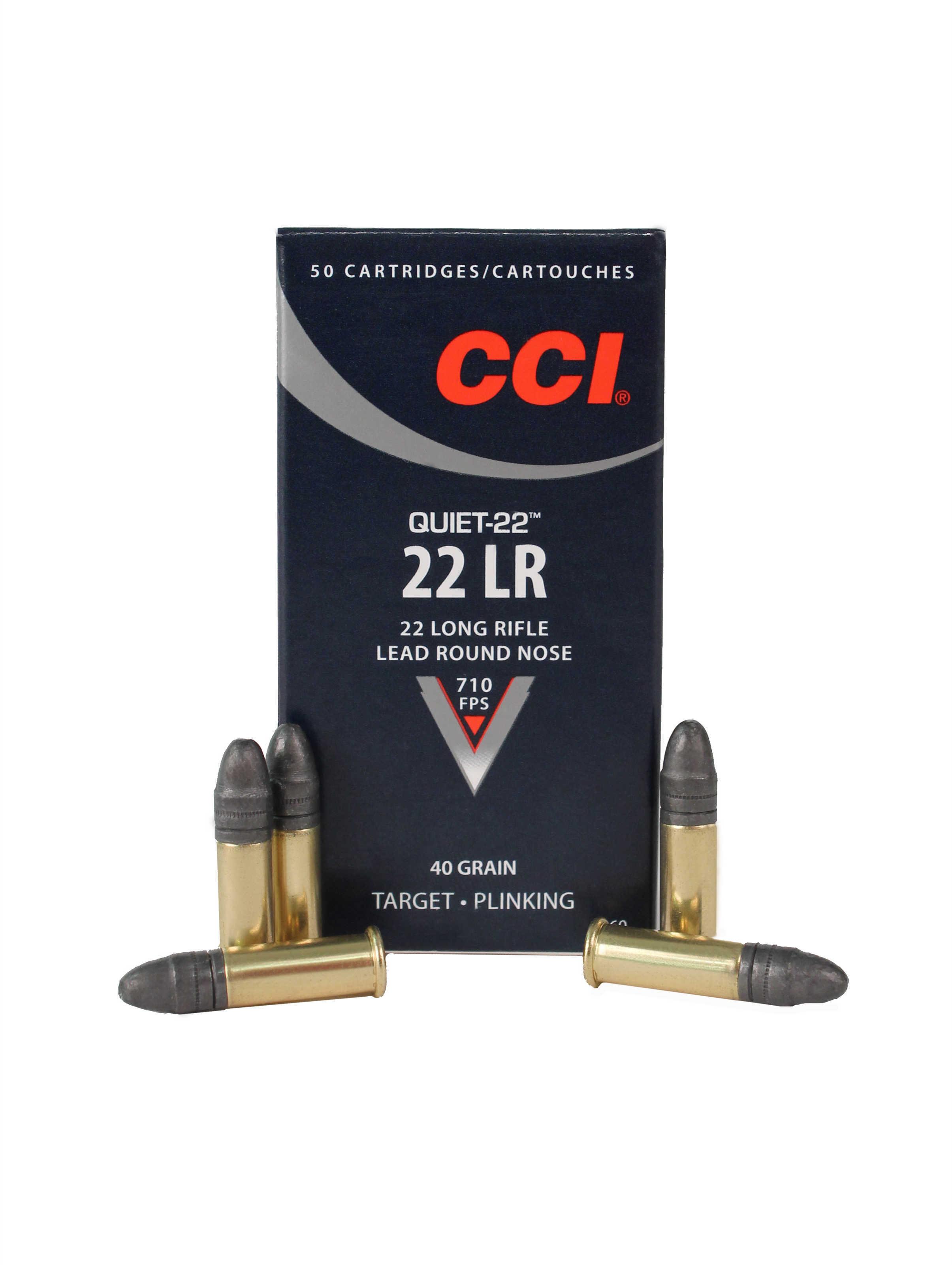 CCI 22 LR 40 Grain Quiet Per 50