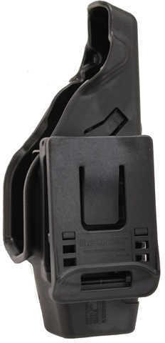Blackhawk Level 2 Duty Holster For Taser Left Hand Md: 44H015Bk-L