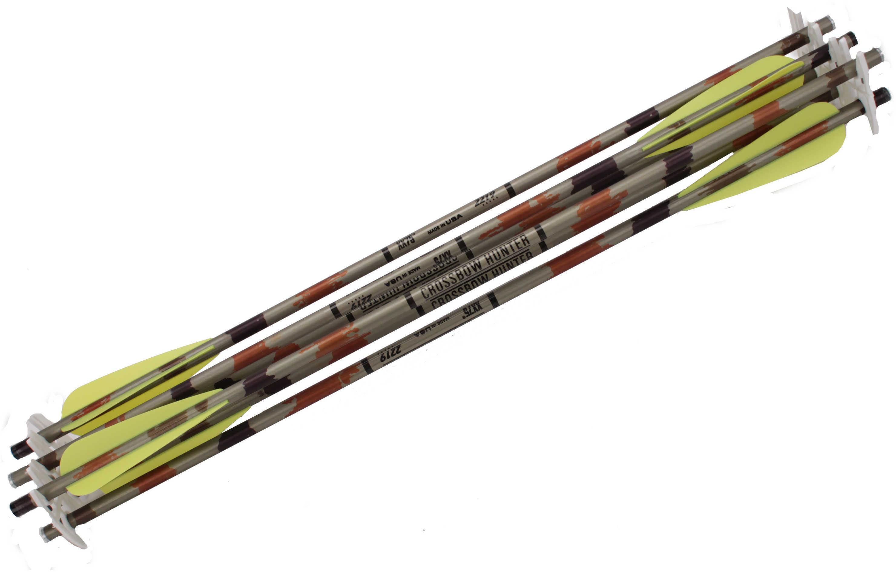 Excalibur Aluminum Bolts 2219 20 in. 4 in. Vanes 6 pk. Model: 2219-V20-6