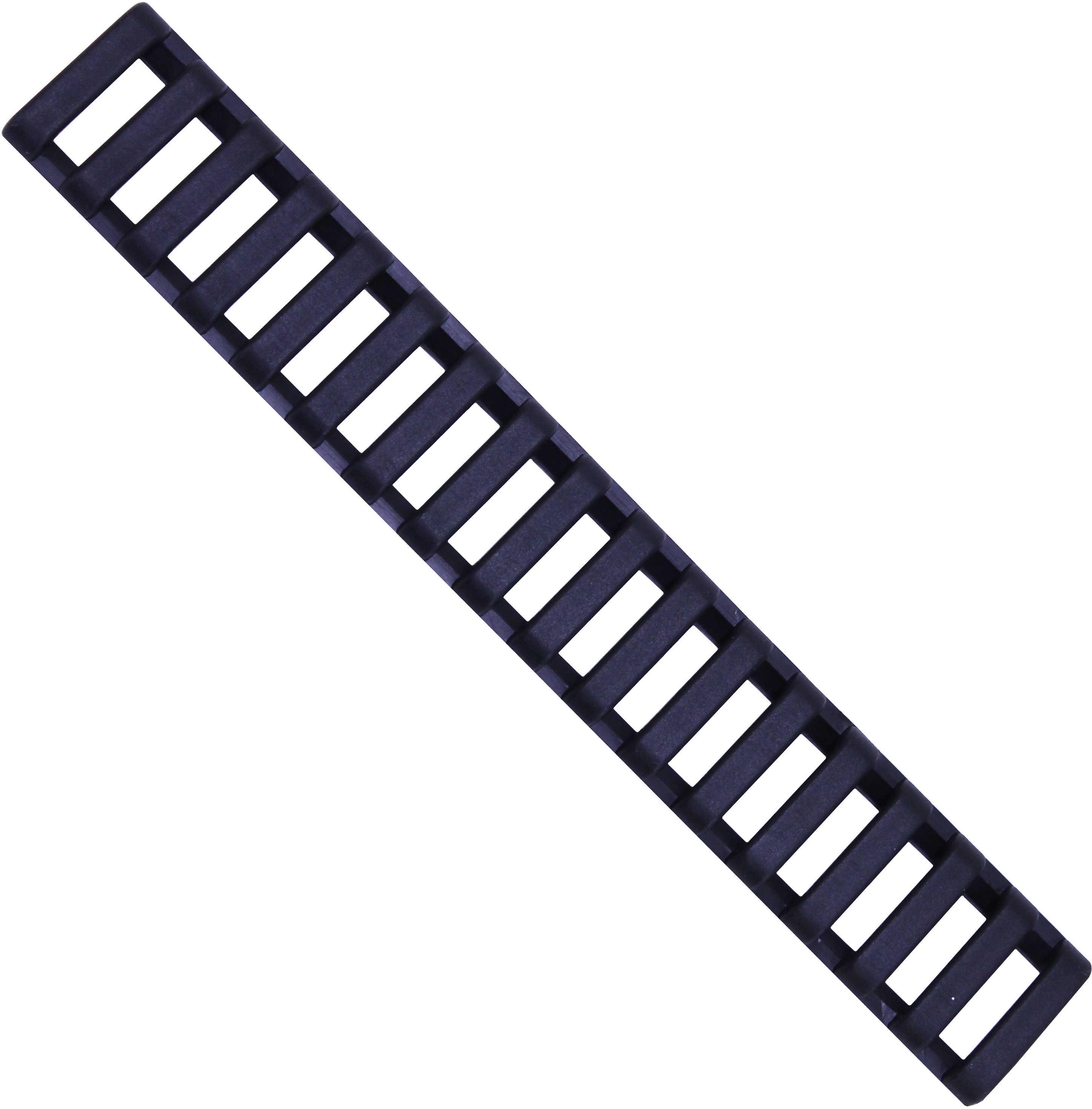 18 Slot Ladder Low Pro Rail Covers, 3-Pack Black Md: 4373-3Pk-Bk