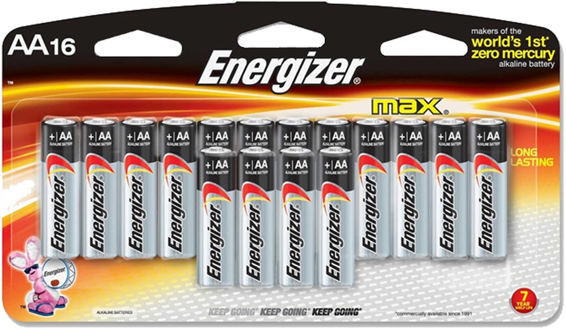 Premium Max Batteries AA (Per 16) Md: E91Lp-16