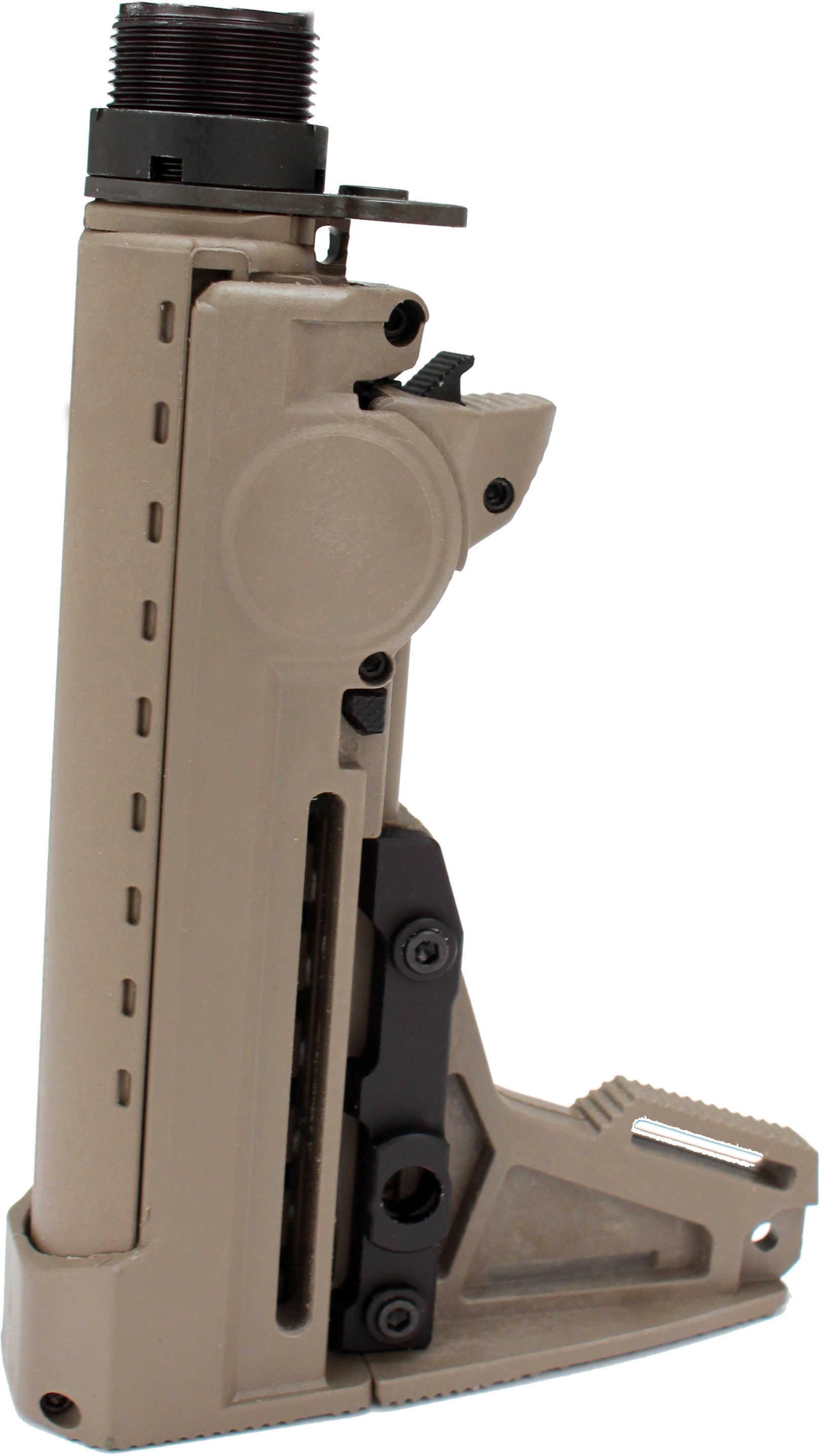 F93-AR-15 /M16 Adjustable ProStock Assembly Flat Dark Earth Md: 4925-De