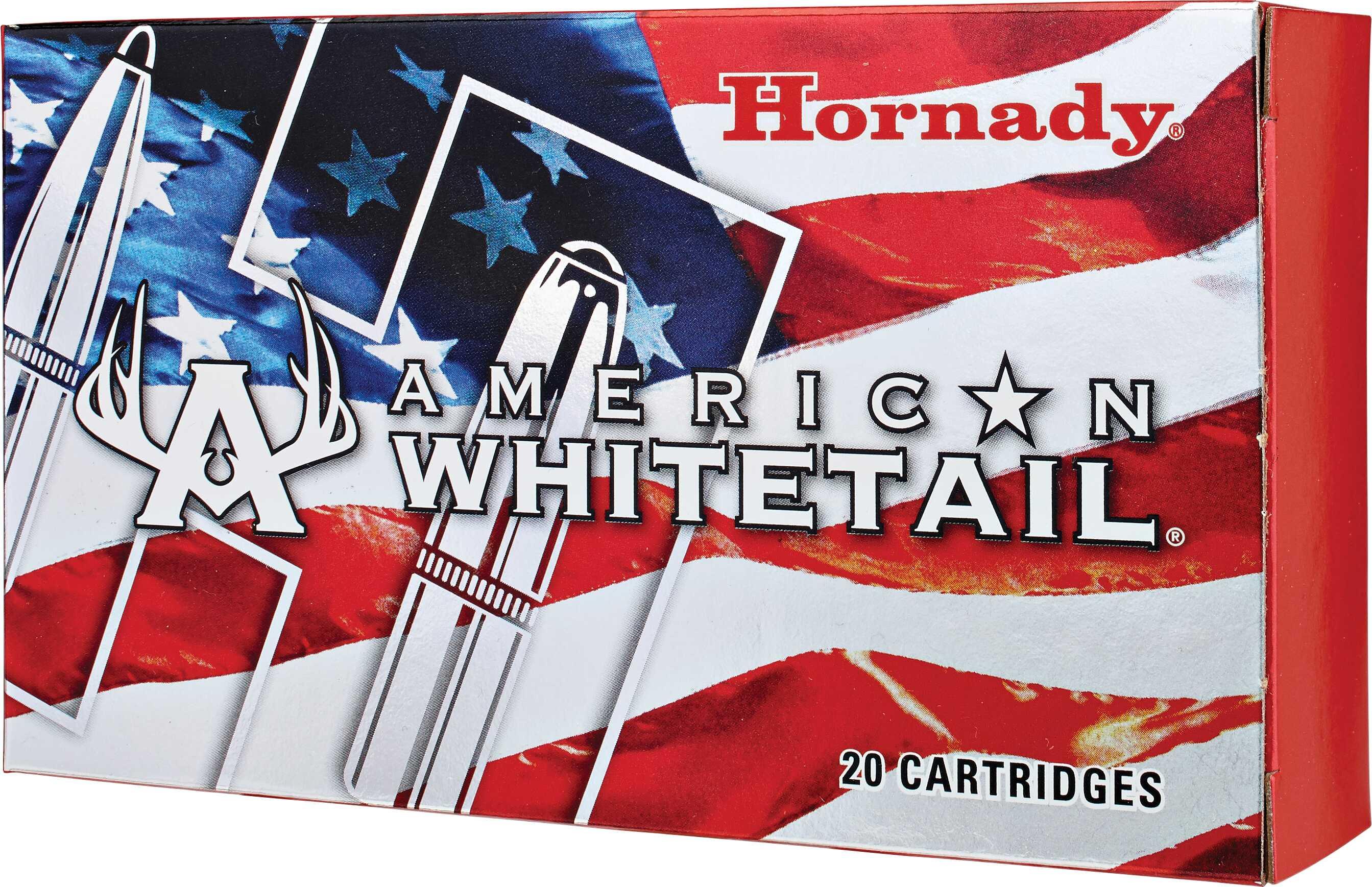 25-06 Remington By Hornady American Whitetail 117 Grain BTSP (Per 20) Md: 8144