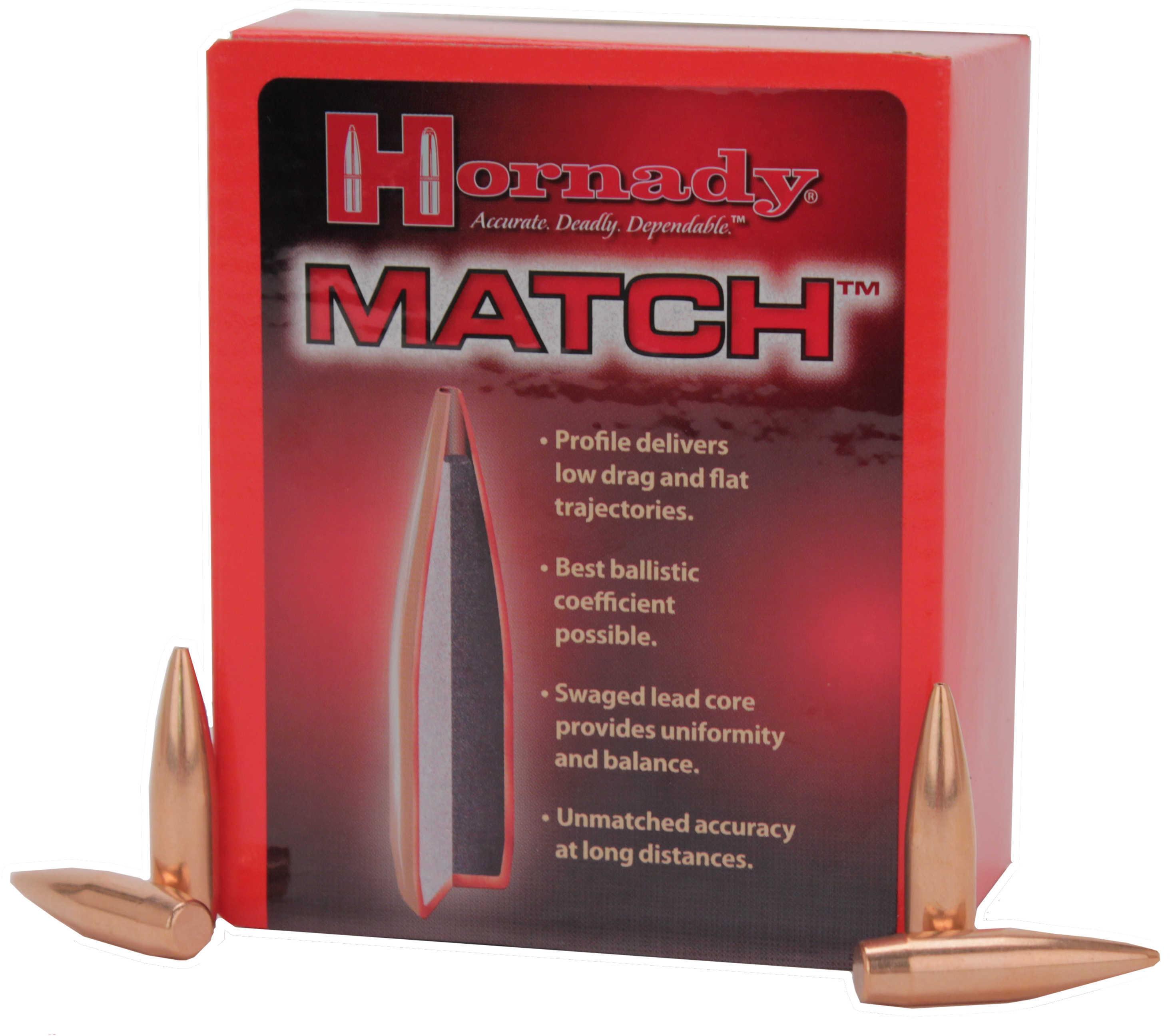 Hornady 8mm Bullets .323 196  Grain BTHP (Per 100) Md: 3237