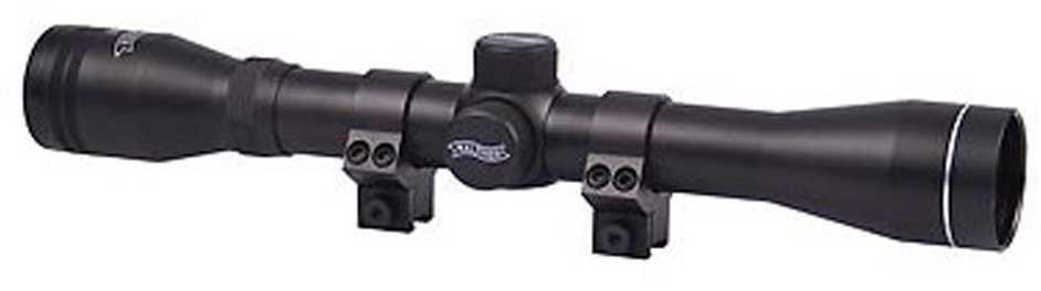 """Umarex Walther Airgun Scope 4X 32 Duplex Matte 1"""" UMX WLTHR 4X32 Scope DX Black 2300571"""