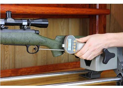 Lyman Digital Trigger Pull Gauge Tool Measures 0-12lb 1/10 oz. Accuracy Zippered Case Gray Polymer Handle 7832248