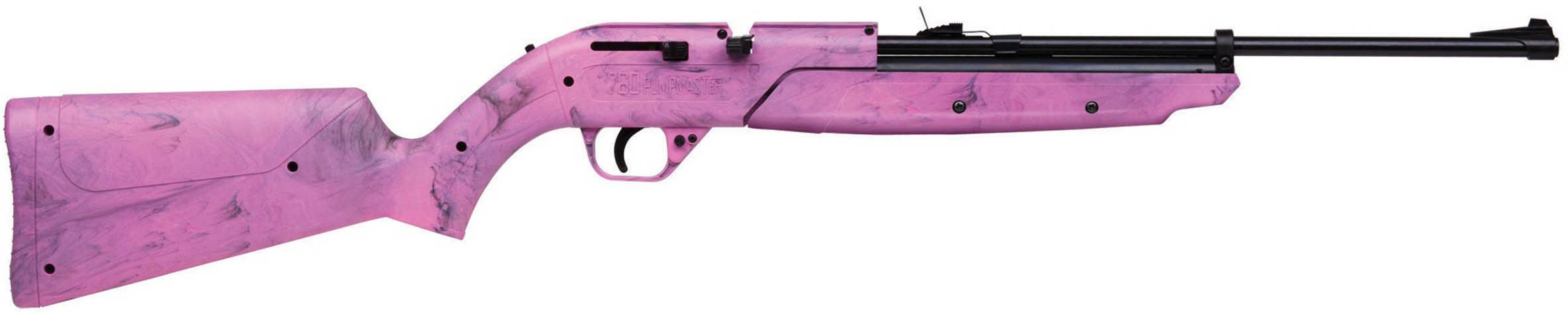 "Crosman Model 760 Pumpmaster .177 BB 17"" Pink Synthetic Stock Pump Single Shot 625 Feet Per Second 760P"
