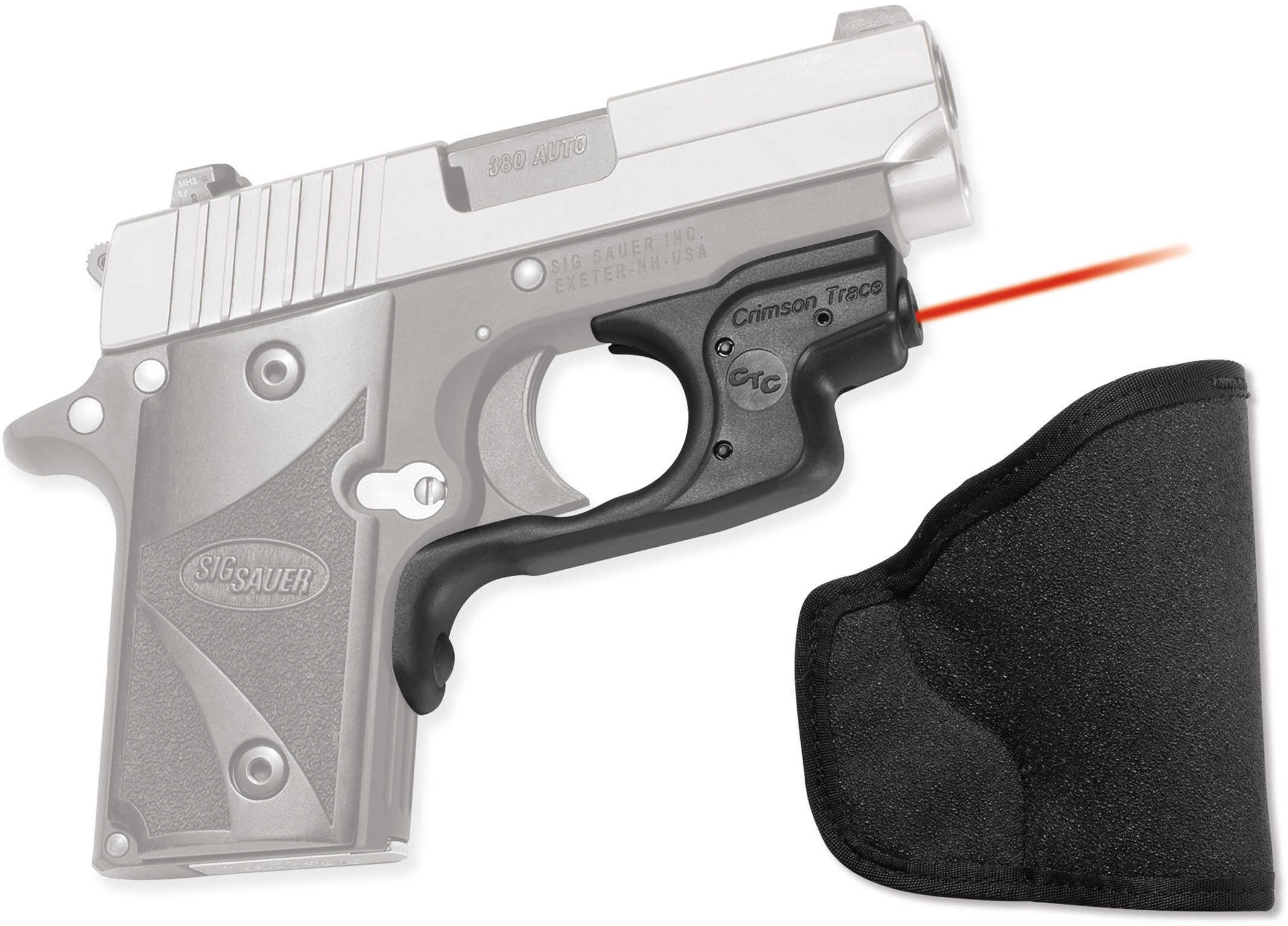 Crimson Trace Corporation Laserguard Fits Sig P238 & P938 Black Front Activated LG-492