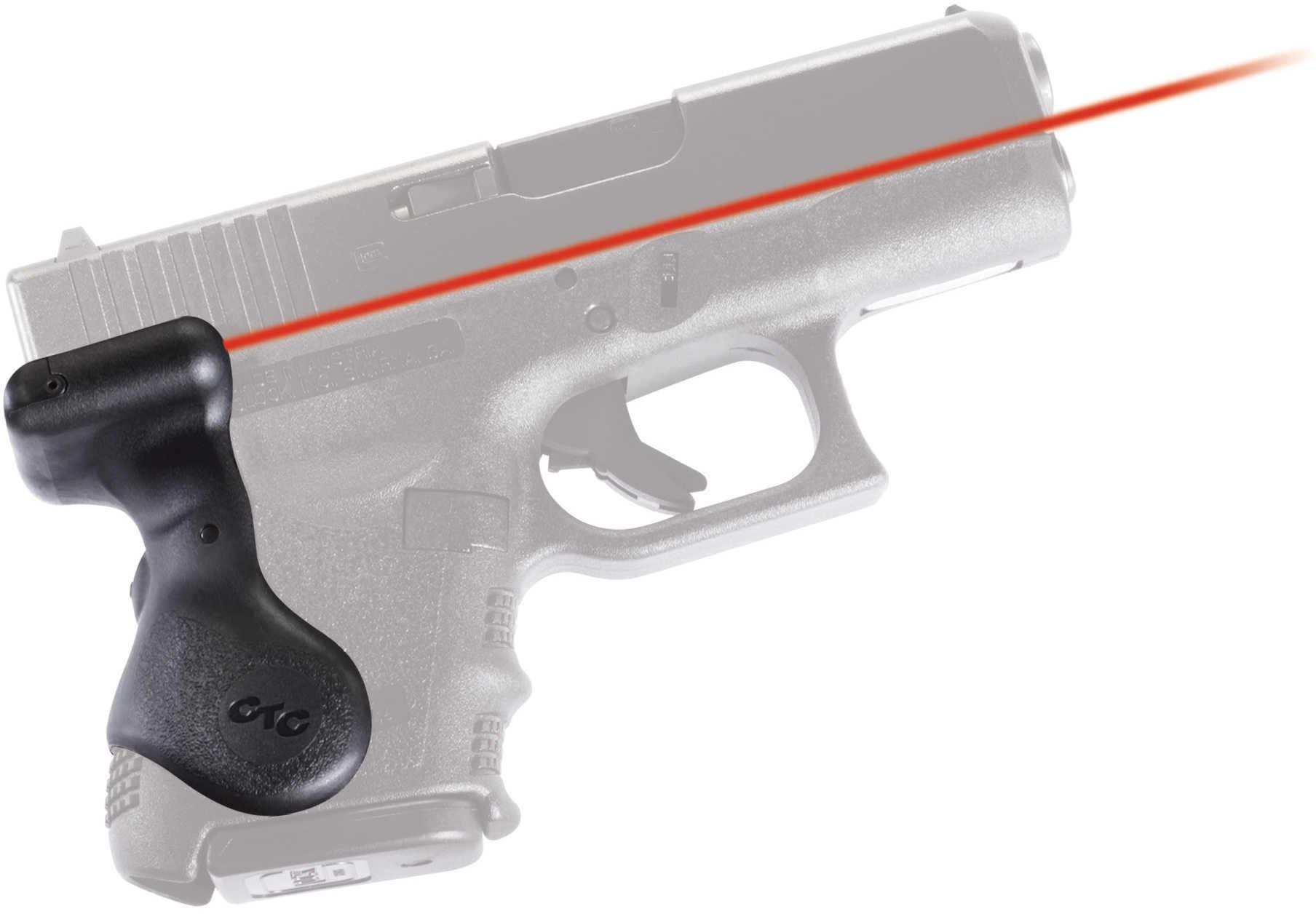 Crimson Trace Corporation Hi-Brite LaserGrip Fits Glock 26 27 28 33 User Installed LG-626