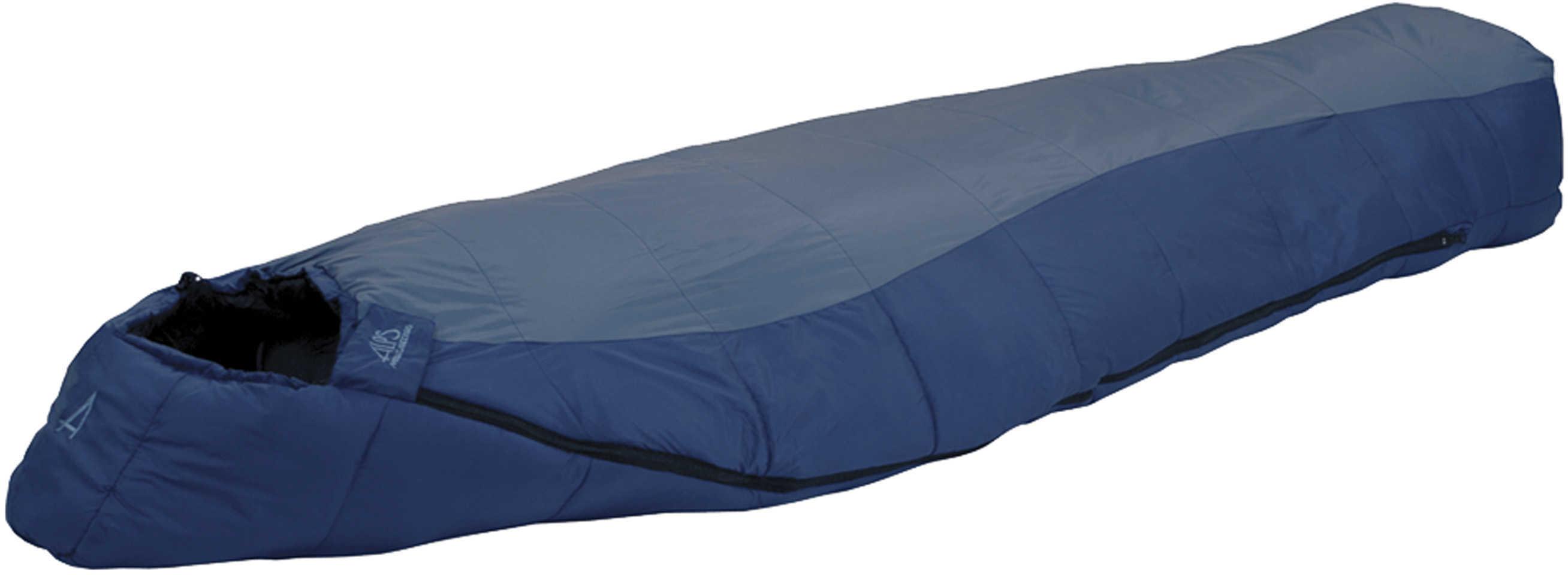 Blue Springs Blue/Navy Sleeping Bag +35° Long Md: 4703732