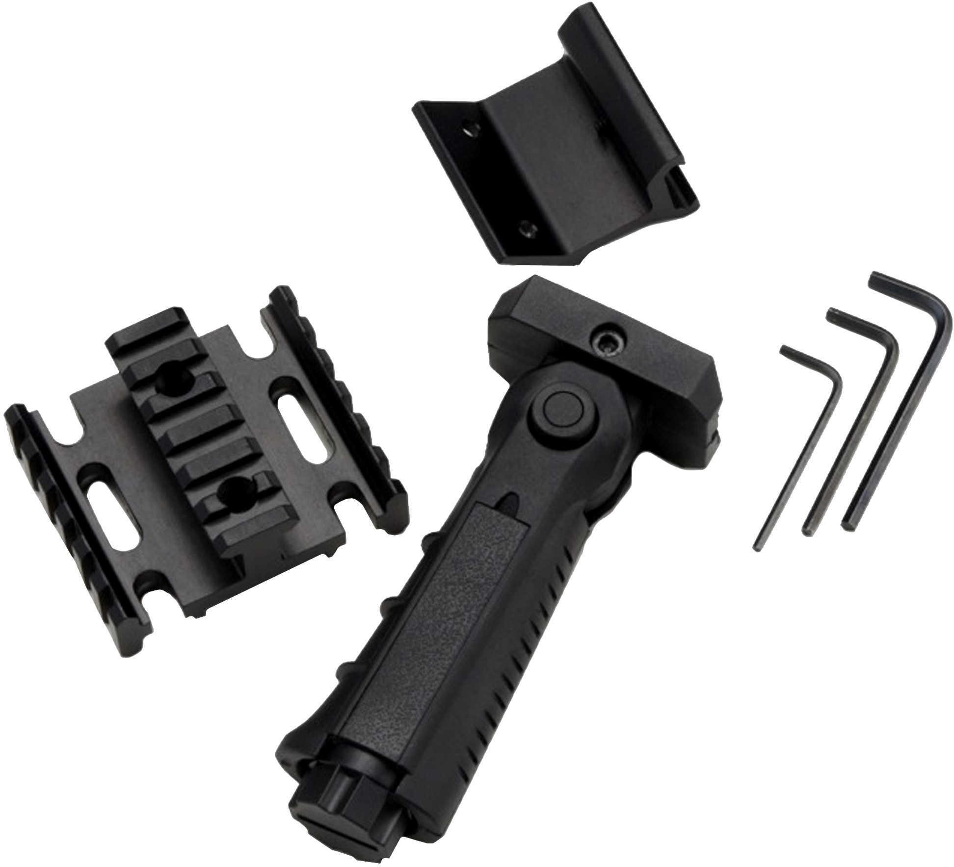 Excalibur Tac-Pac, 3 Side Picatinny Rail,Quiver Bracket,Pistol Grip Md: 7015