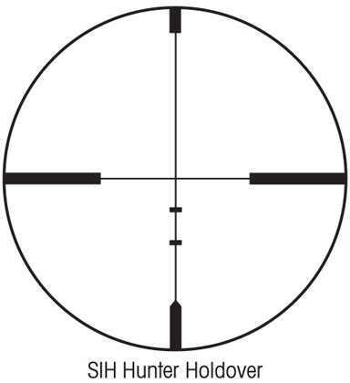 Sightron SiH Si Series Riflescope 3-9X40 HHR Md: 31004