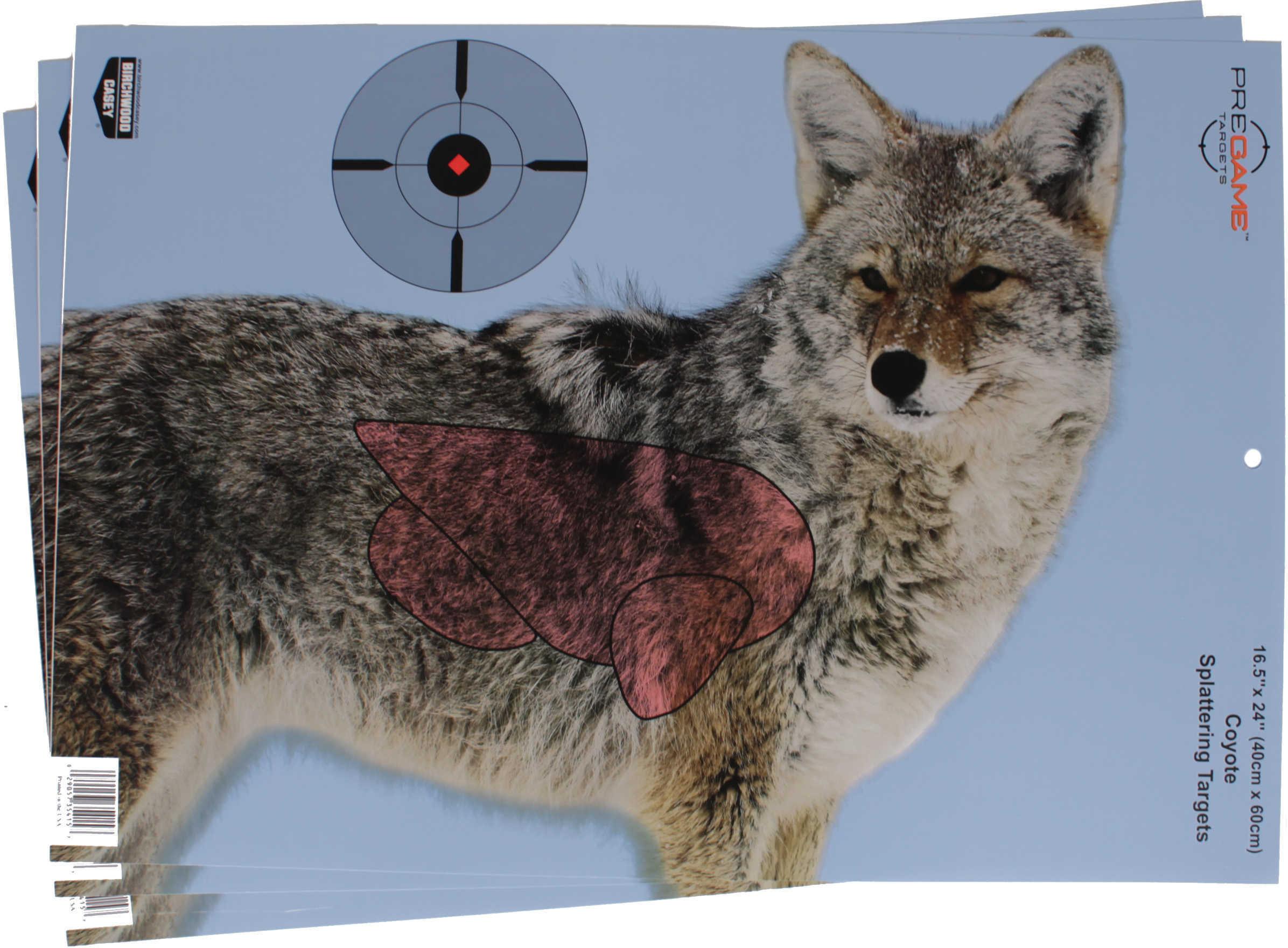 "Birchwood Casey Pregame Targets Coyote 16.5"" X 24"" Target (Per 3) Md: 35405"