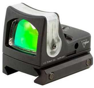 Trijicon RmR Sight Dual Illuminated 12.9 MOA W/Rm33 Picatinny Md: Rm08A-33