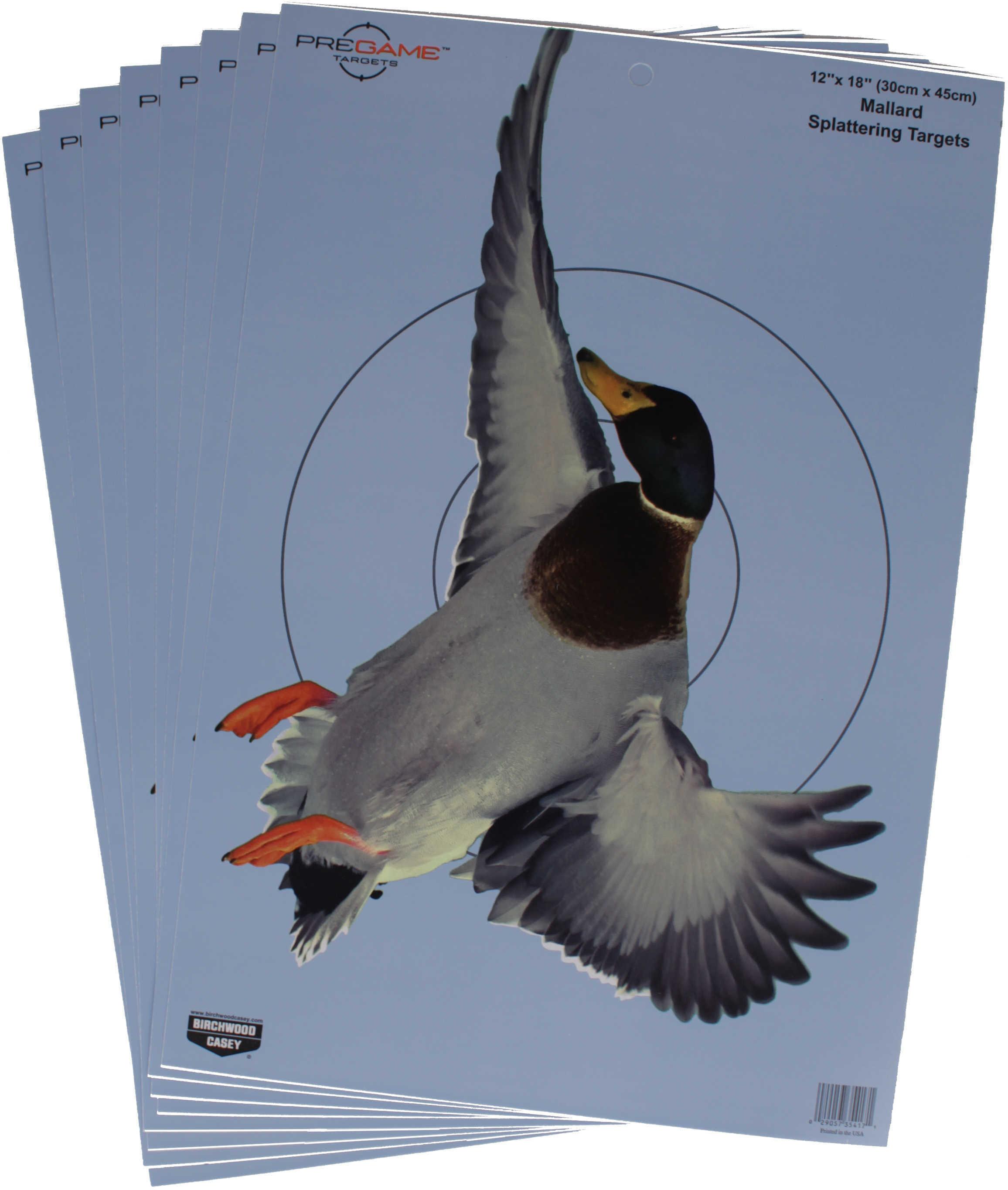 "Birchwood Casey Pregame Targets Duck, 12"" X 18"" Target (Per 8) Md: 35407"