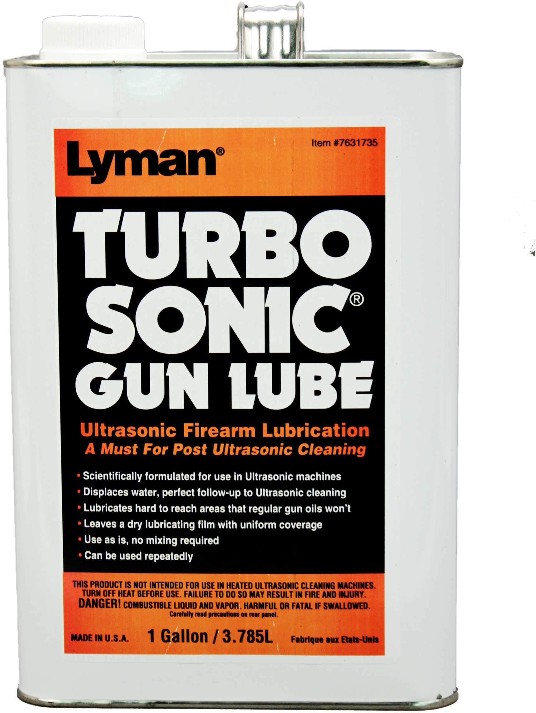 Lyman Ultrasonic Barrel/Gun Parts Lubrication (1 Gal) Md: 7631735