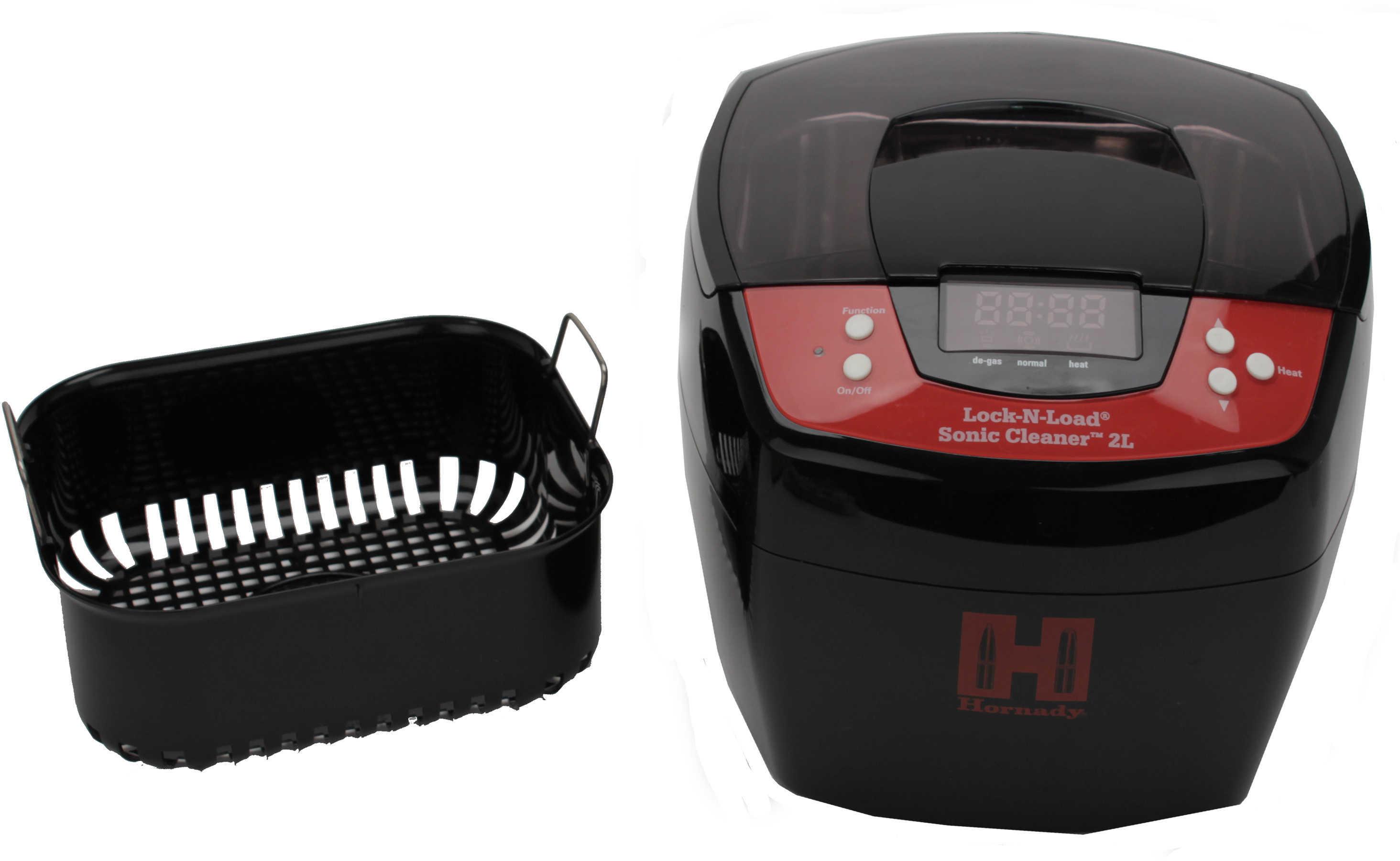 Hornady Lock N Load Sonic Cleaner LiH 2 Liter Heated 110 Volt Md: 043320