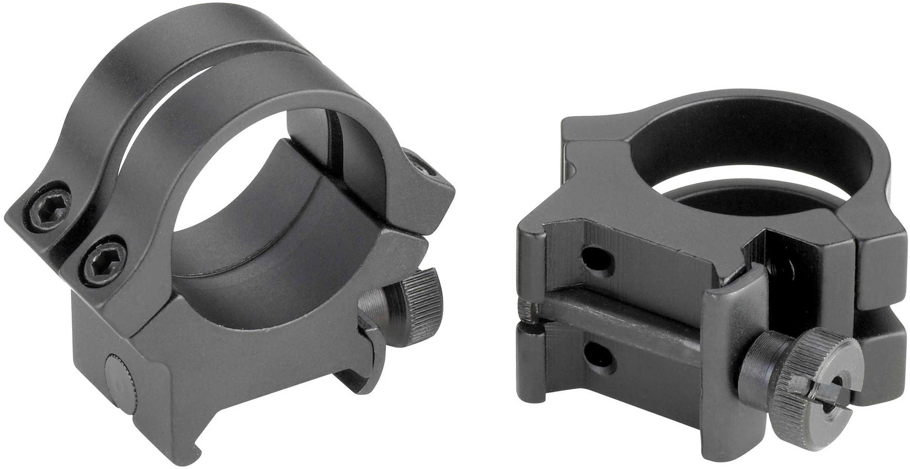 """Weaver Quad-Lock Rings 1"""", High, Extended, Matte Md: 49048"""