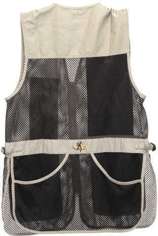 Browning Trapper Creek Vest Sand/Black XXX-Large Md: 3050262806