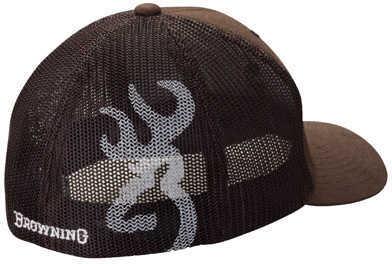 Browning Colstrip Flex Fit Cap Brown Small/Medium Md: 308702982