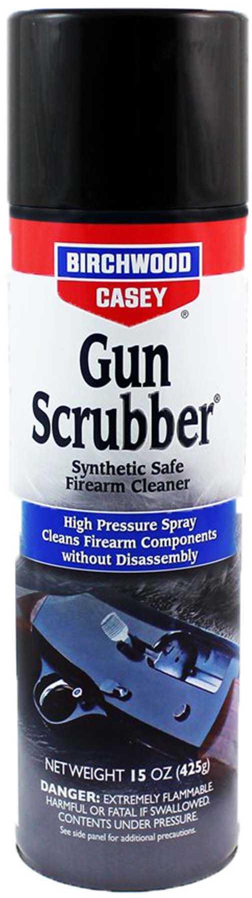 Birchwood Casey Gun Scrubber Firearms Cleaner 15 Oz. Aerosol Md: 33348