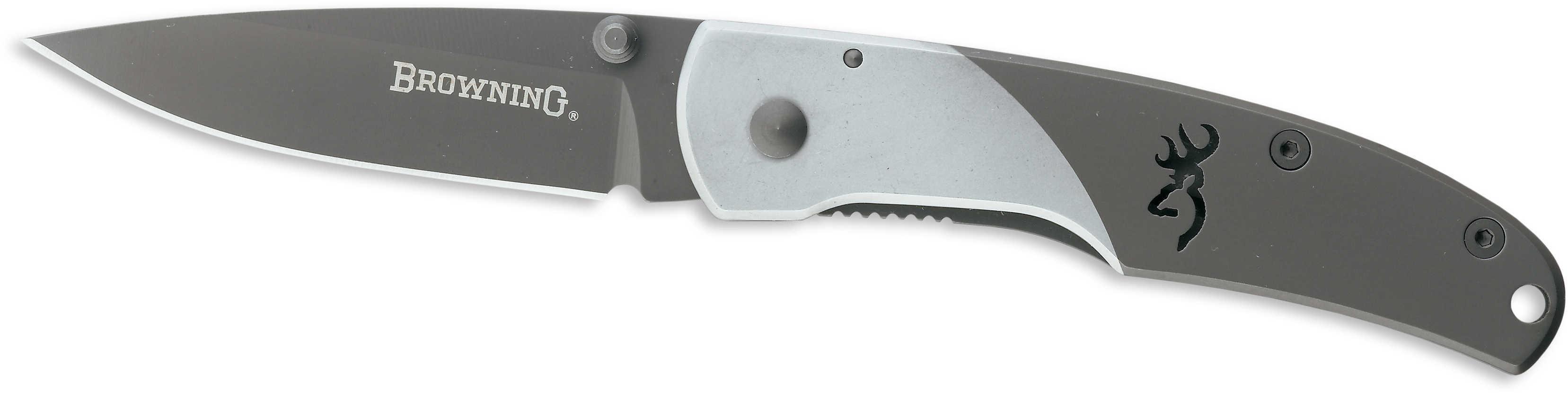 Browning Mountain Ti Folding Knife Medium, Box Md: 322560B