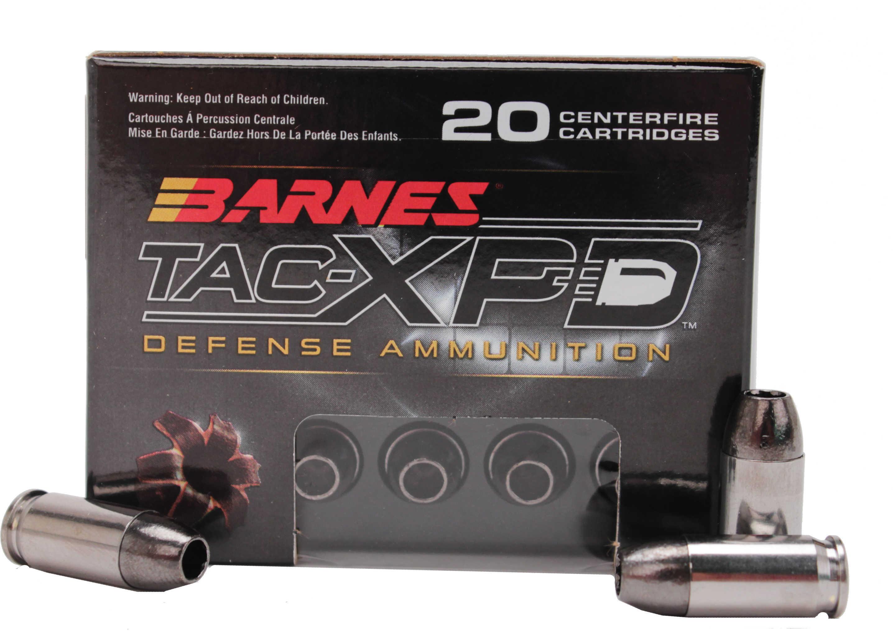 Barnes 380 ACP 80 Grain TAC-XP 20 Rounds Ammonition