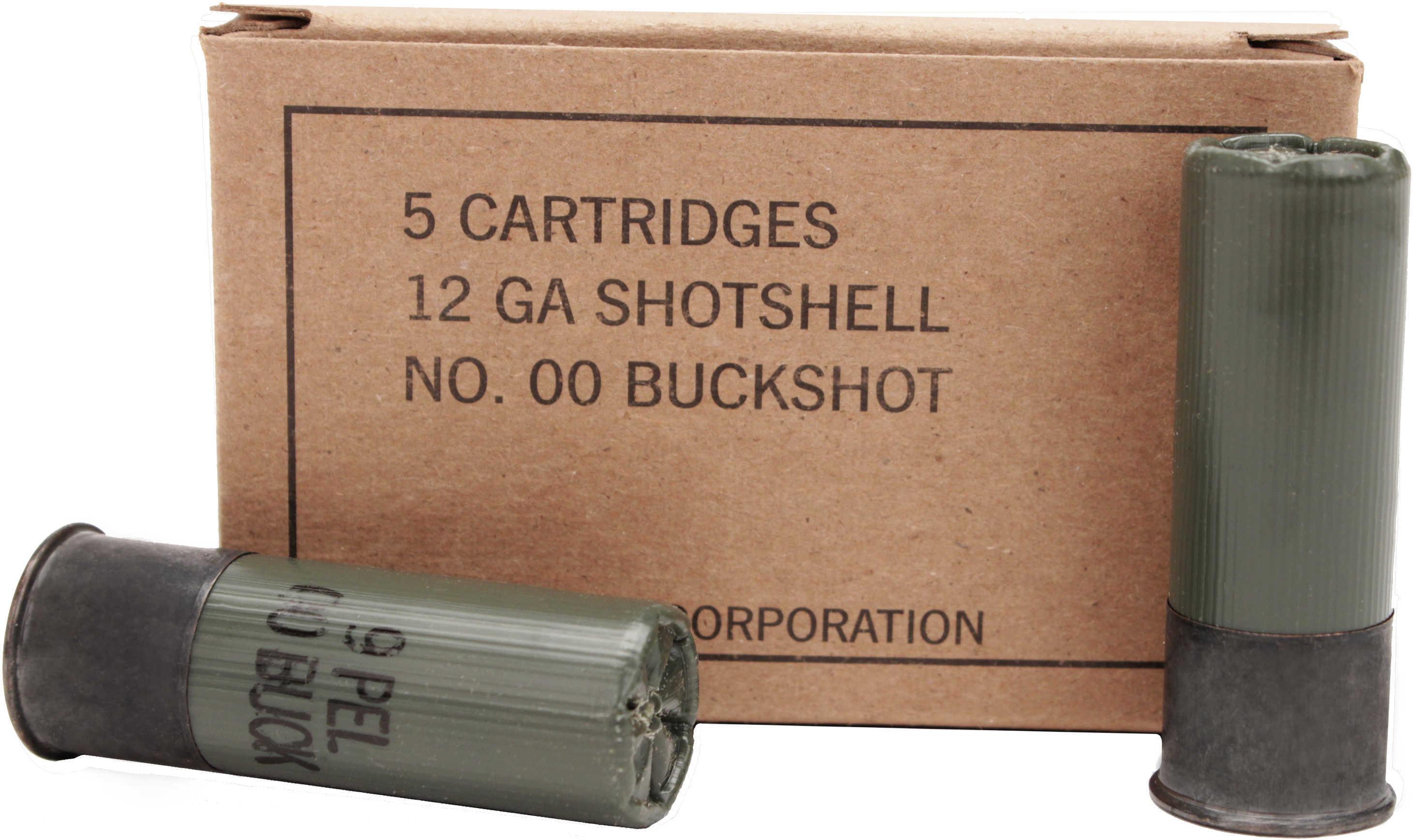 """12 Gauge 00 Buck 9 Pellet 2-3/4"""" (Per 5) Md: Q1544"""