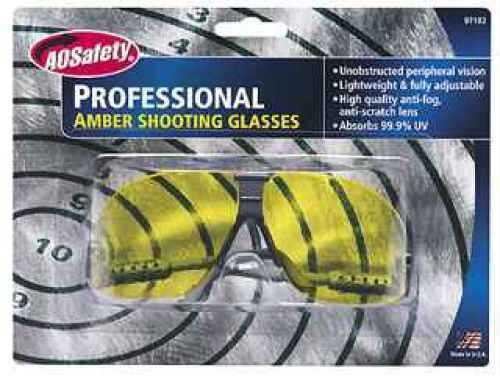 Shooting Glasses Professional Shooting Glasses, Amber Lens Md: 97102-00000