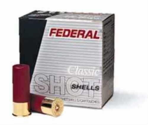 "Federal 12 Gauge Game-Shok Heavy Field Lead Shot shells 2 3/4"" 3 1/4 Dram 1 1/8Oz 6 Shot Ammunition"