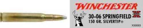 30-06 Springfield By Winchester 30-06 Spr 150Grain Super-X Silvertip Per 20 Ammunition Md: X30063