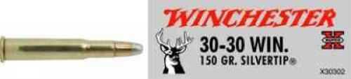 30-30 Winchester By Winchester 30-30 Winchester 150 Grain Super-X Silvertip Per 20 Ammunition Md: X30302