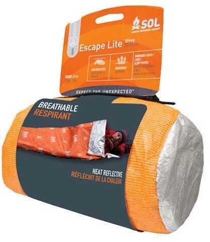 "Adventure Medical Kits 01401241 Sol Escape Bivvy Lite Orange 82"" X 32"""