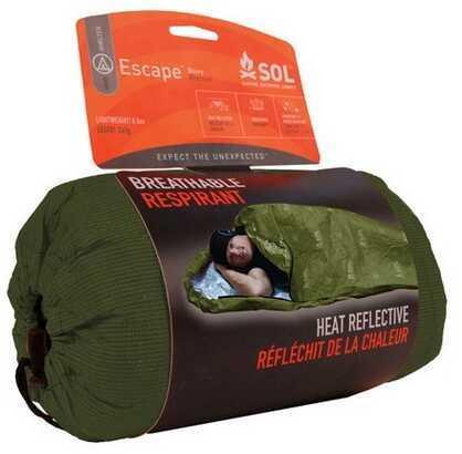 """Adventure Medical Kits 01401229 Sol Escape Bivvy OD-Green 84"""" X 31"""""""
