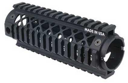 BlackHawkBlackhawk AR-15 Carbine Length Quad Rail Forend 2 Piece Md: 71QF01Bk