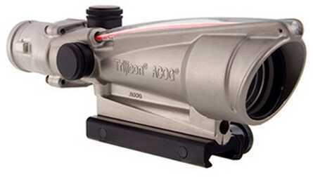 Trijicon ACOG 3.5X35 Nickel Boron Dual Illuminated Red Chevron Md: Ta11-C-100200